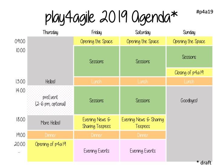 p4a19 Agenda